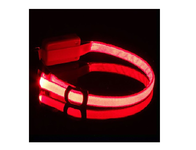 collier led rouge