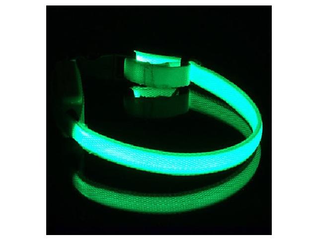 collier led vert