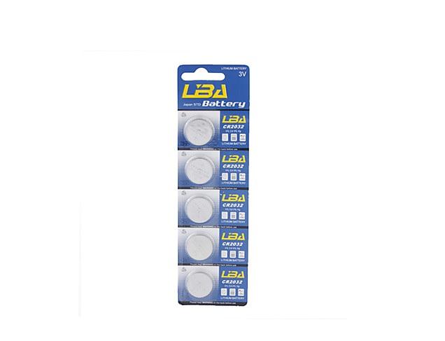 piles boutons cr2032 3v